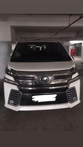 Toyota Velfire 2015 2.5 ZG