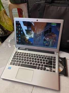 Laptop acer aspire V5 slim siap daring