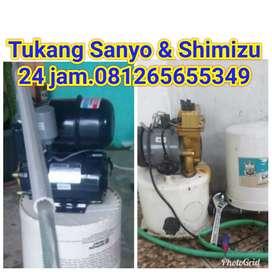Garansi.TUKANG service Sanyo,Shimizu,dan instalasi air.cepat,jujur.