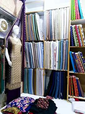 Running Cloth & Garments Shop For Sale