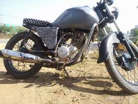KGF like modified bike smooth bike