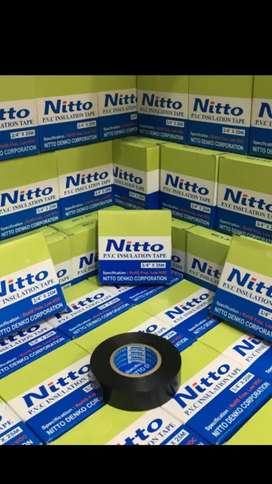 Isolasi nitto pvc insulation tape / solasi nitto denko
