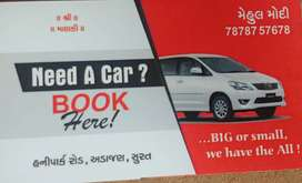 car on rent in very resoneble price all Gujarat