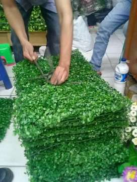 Jual Rumput axilia crop bunga plastik/artificial