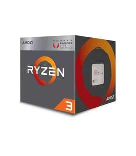 AMD Ryzen 3 2200G and Gigabyte A320 motherboard