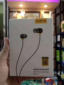 PROMO - HEADSET HEAD SET EARPHONE HF REALME MA 11 BS TLPON KARET-OK