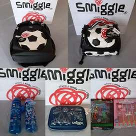 Smiggle tas, botol, tempat pensil