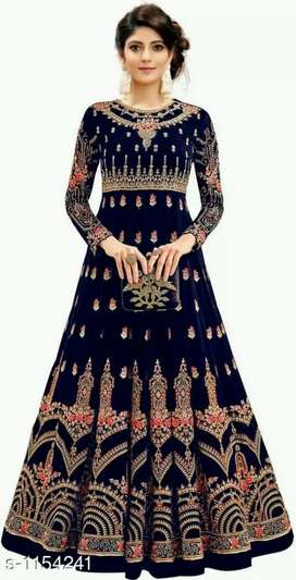 Ethnic Gown on Sale