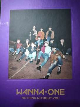 Album Wanna One (Nothing without you) Purple versi