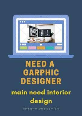 interior designer ,Graphic designer
