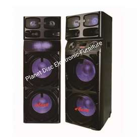 "Speaker Active DAT 10"" Double Subwoofer MGM522"