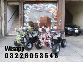 Brand New 125cc Atv Quad Bike 4 Wheels Online Deliver In All Pakistan
