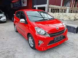 Toyota Agya 1,0 TRD S Manual th2015 Warna Merah Solid km rendah