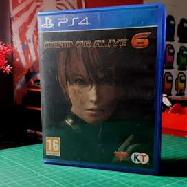 kaset ps 4 dead or alive 6