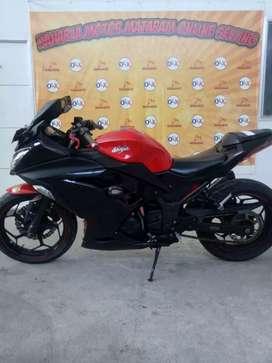 Ninja 250R Tahun 2015 DK8080JT (Raharja Motor Mataram)