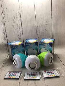Lampu tidur bluetooth speaker
