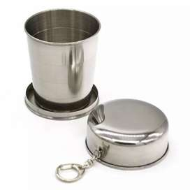 Zbozwei Gantungan Kunci Gelas Lipat Camping Folded Cup 240ML - YL37802