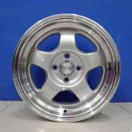 Cicil Velg Mobil Jazz, Freed DP 10% Ring 15 HSR BRISKET H4X100 SMF