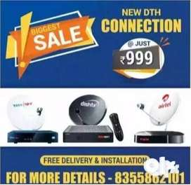 Special Offer on Tata Sky Airtel Dish Tv Connection in Lowest Price!!