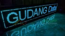 Lampu Yogyakarta Running Text Wifi android Full Outdoor Garansi