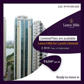 3 BHK Exclusive and Luxury Flats for Sale in Hyderabad