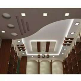 FALSE ceiling , WALLPAPER