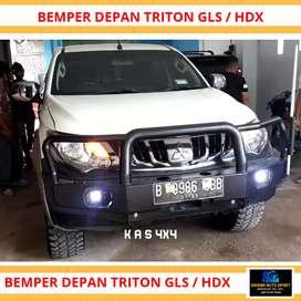 Bumper triton arb hilux dmax hilux dcabin single