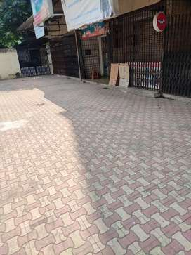 Road facing Shop in prime location in Evershine city in 45 Lacs nego.