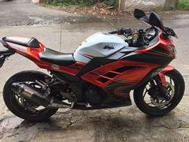 Ninja 250 fi th 2013 mulus bisa cash kredit
