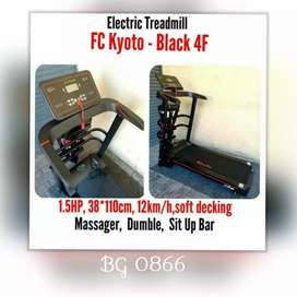 Treadmill Elektrik Kyoto Tek. Jepang // Oswald DR 18C57