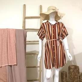 Zoya Dress kancing