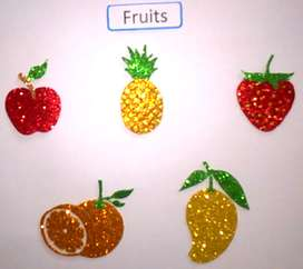 fruit stickers for wall