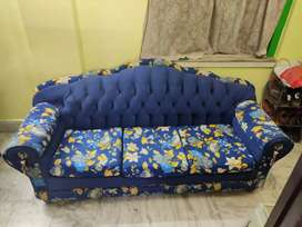 3 seater sofa with cusions
