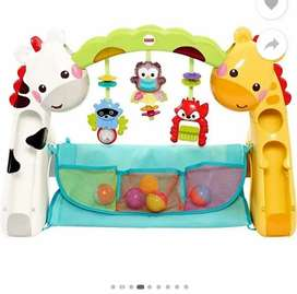 Baby Walker/Musican Play Gym with mat for Sale in mint condition