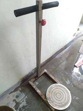 Twister gym machine