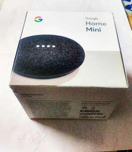 Google home mini smart assistant