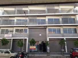 Showroom  , floor , rooftop is available in raja park prime location