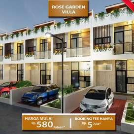 Rumah Villa Dijual harga murah lokasi strategis dekat dusun bambu