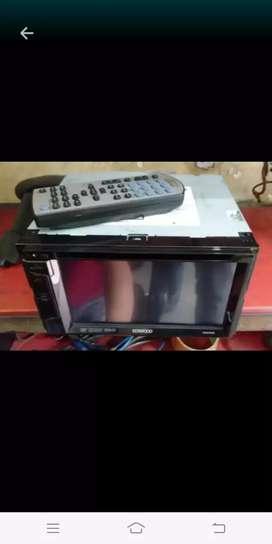 Bekas Dobledin KENWOOD ddx 315 lengkap Remote nya