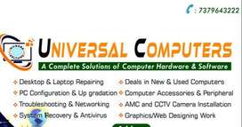 All Types of Computer Services at your affordability.