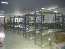 Rak Gudang Medium Duty Kapasitas 500 kg Perlevel
