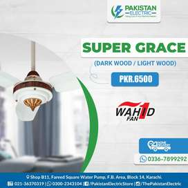 GFC, WAHID, ROYAL CEILING FANS.
