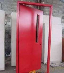 Jual Pintu Tangga Darurat kebumen Fire Door Emergency Exit Panic Door