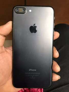 Iphone 7 plus 128gb black colour