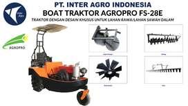 Jual Boat Traktor (Traktor Perahu/Traktor Amfibi) 25 HP dan Implement