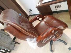 Imported Brown Executive Chair