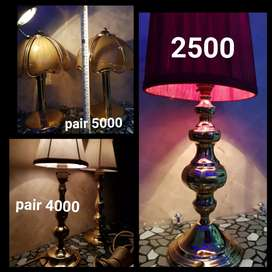 Brass lamps available