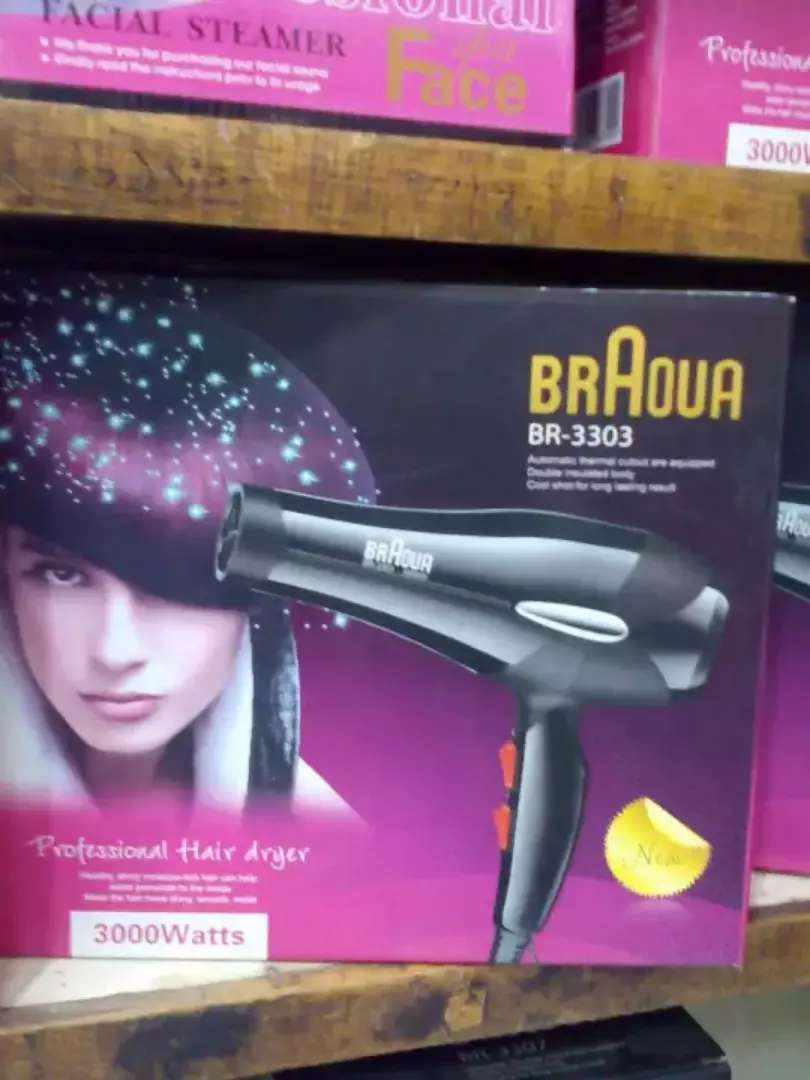 BR-3317 Hair Dryer (Hot & Cold 0