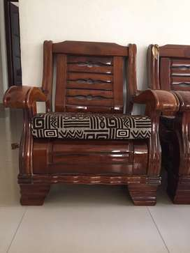 Two one seater and one three seater sofa set for sale