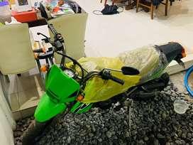 Kawasaki KSR 110CC CBU Green 2007 km10 antik!!